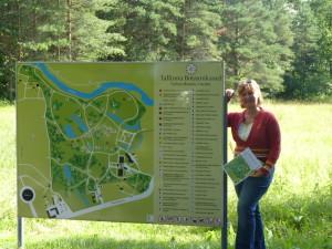 Botanická zahrada vTallinu je oázou klidu.
